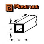 Plastruct ST-10P  ST-10P - 8mm SQUARE TUBE (4 pieces)